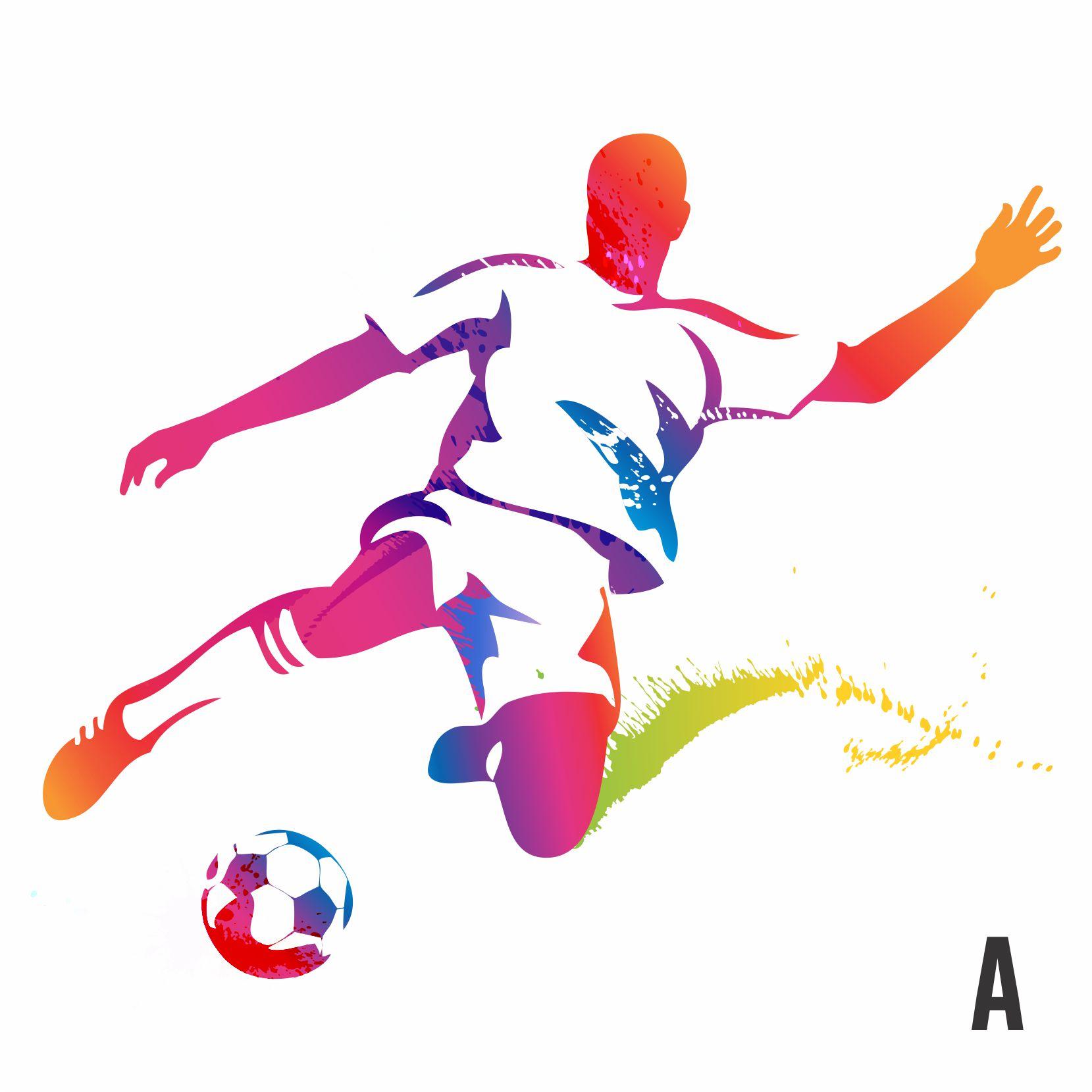 Lujo Jugador De Fútbol Hoja Para Colorear Inspiración - Ideas Para ...